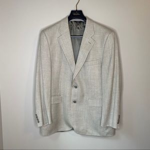 Brooks Brothers 346 Sport Coat Gray textured 42